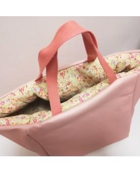 Bac de rangement sac rose...