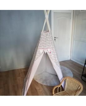 Tipi coton lin triangle et...