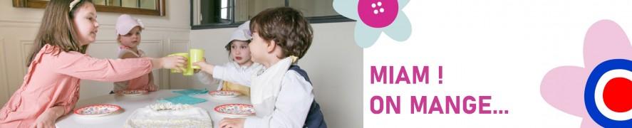 Ah table - Bavoir bébé | Bavoir à manches enfants | Serviette de table enfant