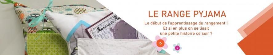 Range Pyjama Coussin | Range pyjama Bébé | Range pyjama Livre