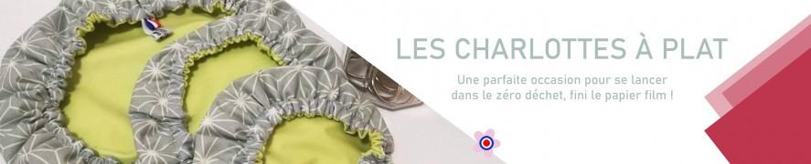 Charlotte pour plats  Protection plats   Zéro déchet