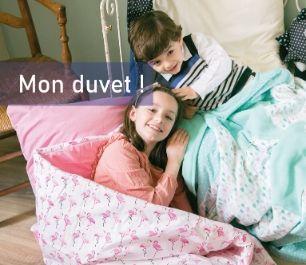 Mon duvet Miss & Cie | Duvet Enfant Fabrication Française