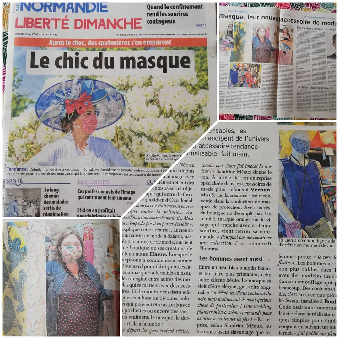 Le chic du Masque | Miss & Cie Normandie France